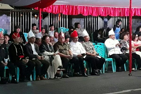 Tradisi Tulude di Tondano Berlangsung Meriah, Polisi Libatkan Pengamanan