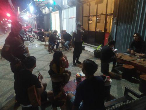 Polres Kotawaringin Timur (Kotim) Lakukan Patroli Gabungan Cegah Corona