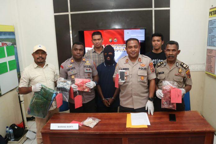 Polresta Jayapura Berhasil Ungkap Pembunuh dan Pemerkosa Wanita Tanpa Busana di Organda