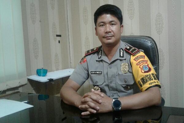 Dirikan Pos Pelayanan Ops Ketupat, Polsek Pelabuhan Manado Bersama Stakeholders Cegah Virus Corona (Covid -19)