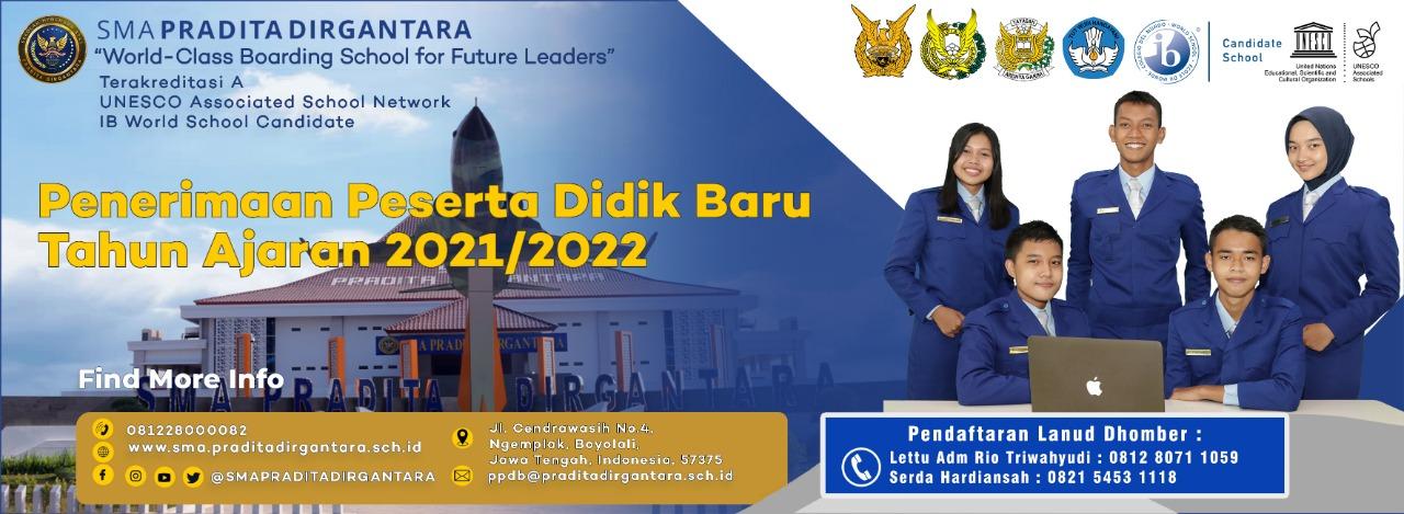 Lanud Dhomber Balikpapan Kembali Buka Pendaftaran SMA Pradita Dirgantara T.A 2021/2022