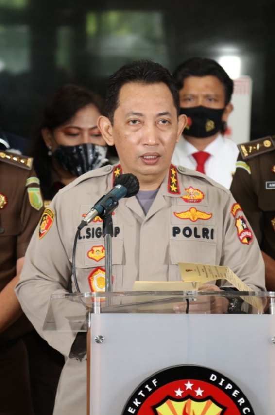 Calon Tunggal Kapolri Pilihan Jokowi, Ini Deretan Kasus Besar Yang Diungkap Komjen Listyo Sigit Prabowo di Bareskrim