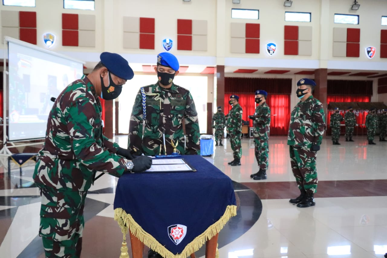 Kolonel PNB Dedy Susanto, S.E.Jabat Danlanud DhomberBalikpapan