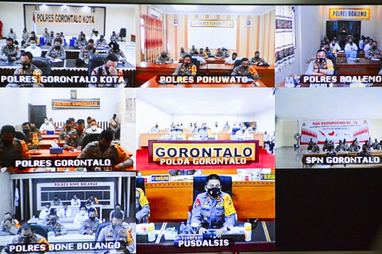 TERKAIT KASUS VIDEO ASUSILA, KAPOLDA GORONTALO BERI TARGET  KAPOLRES BOALEMO 5 HARI BERKAS SUDAH DILIMPAHKAN KE JPU