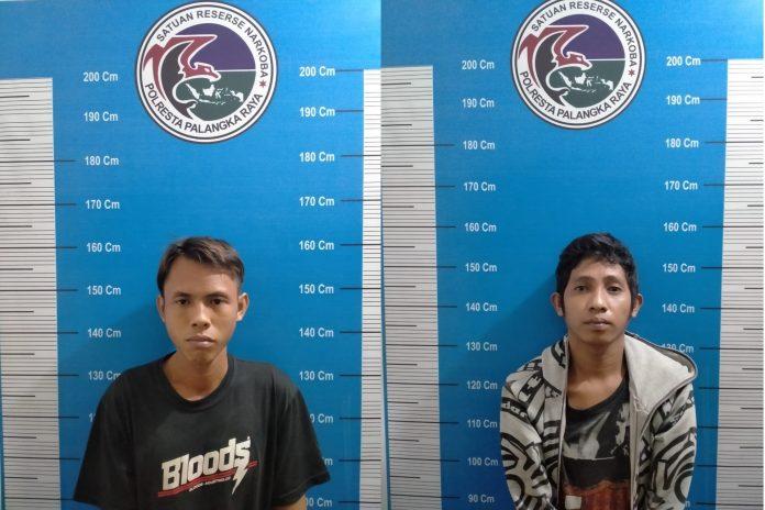 Satresnarkoba Polresta Palangka Raya Ringkus 2 Orang Budak Sabu di Jalan Rajawali