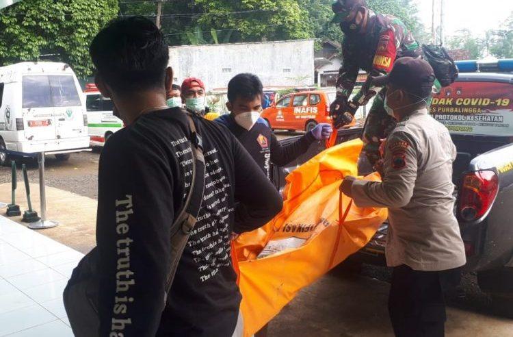 Mayat Pria Tanpa Identitas Ditemukan di Sungai Pekacangan PurbaIingga Jateng