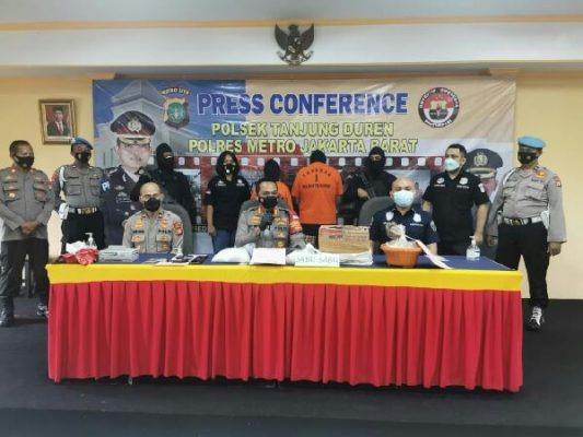 Polsek Tanjung Duren Berhasil Gagalkan Peredaran Narkoba Seberat 3,7 Kg