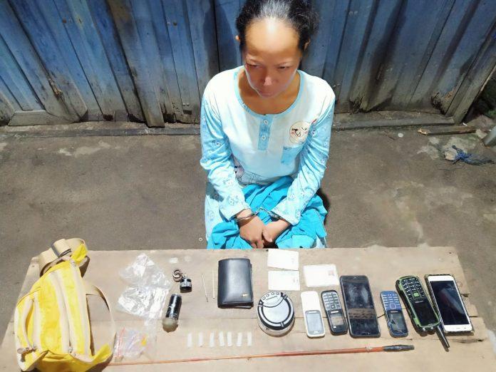 Simpan Sabu Dalam Drum, Ditpolairud Polda Kalteng Amankan Perempuan di Sampit