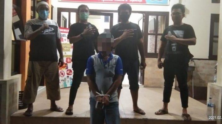 MN alias Mat (36) Pelaku Jambret Hp Berhasil Diamankan Polsek Kota Tengah