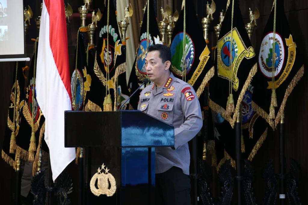 Rakernis SSDM Polri, Kapolri Listyo Sigit Prabowo Tekankan Pemanfaatan Teknologi Menuju Era 4.0