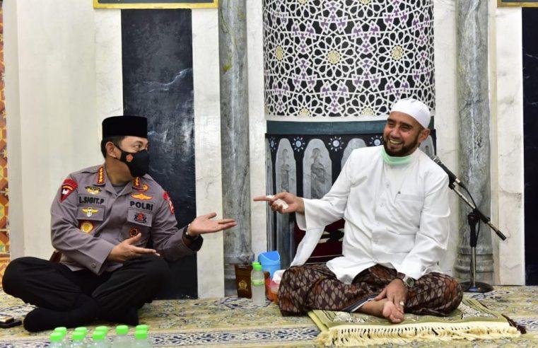 Silahturahmi ke Habib Syech, Kapolri Listyo Sigit Bicara Soal Penanganan Covid-19 dan Program Vaksinasi Nasional