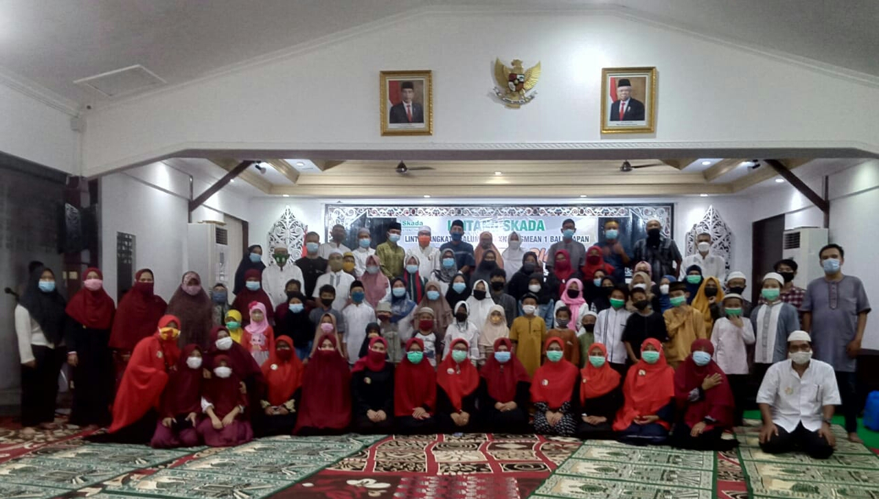 Alumni SMK Negeri 2 Balikpapan Berbuka Puasa Bersama Anak Yatim Piatu & Dhuafa