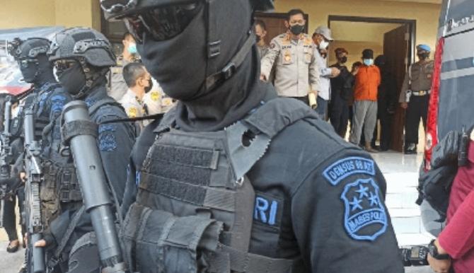 Tim Densus 88 Antiteror Tangkap 52 Terduga Teroris di Sulsel
