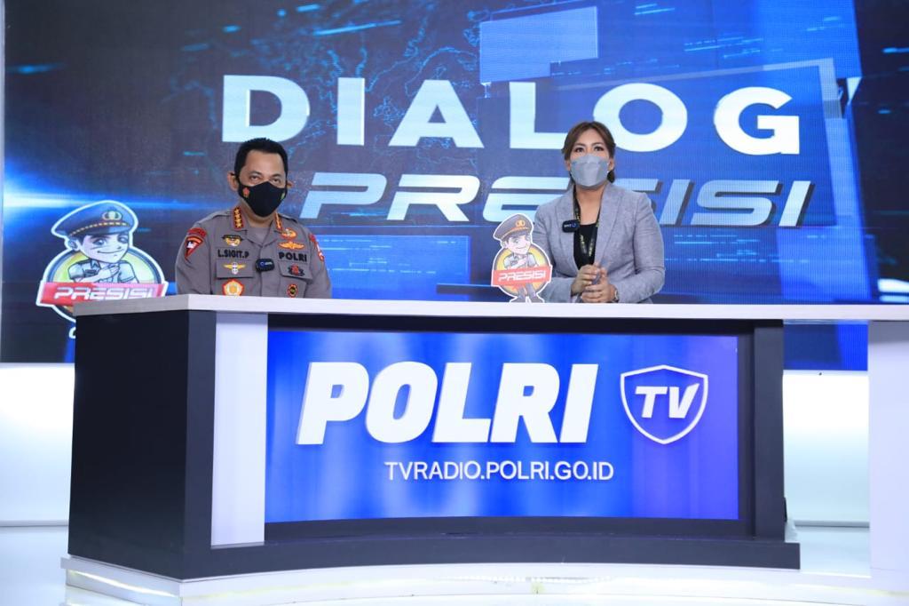 Launching Polri TV-Radio, Kapolri: Agar Lebih Dekat & Memberi Edukasi Masyarakat