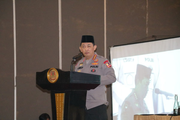Kapolri Jendral Listyo Sigit Prabowo Ajak Pemuda Muhammadiyah Bangun Ketahanan Nasional