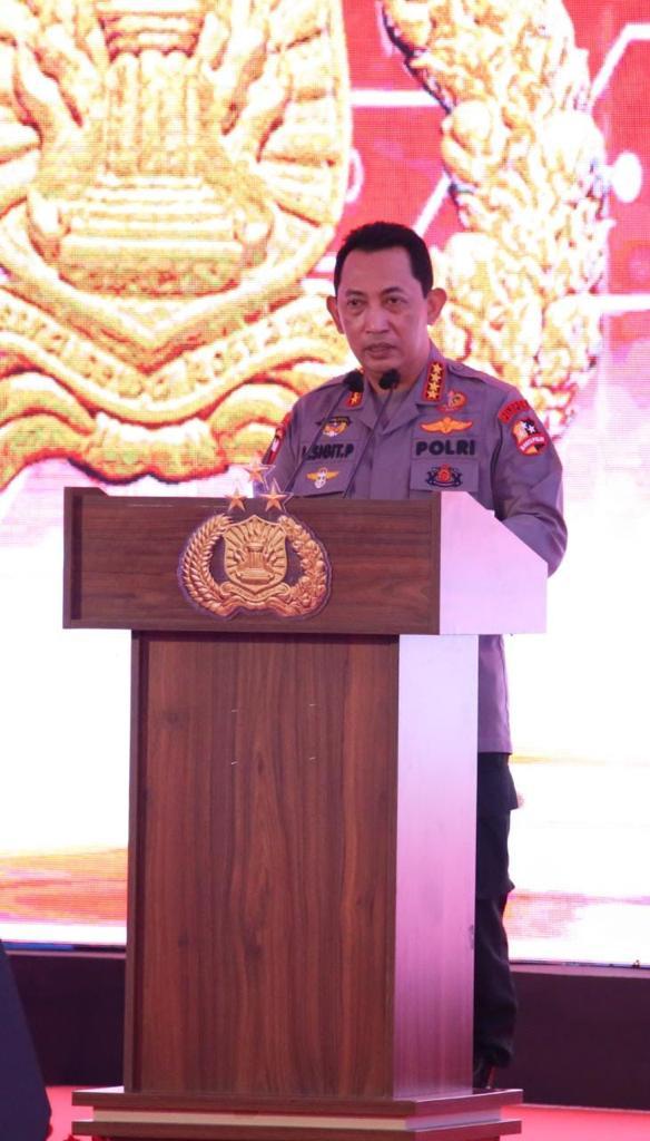 Kapolri Jendral Listyo Sigit Prabowo Resmikan Aplikasi SIM Presisi Nasional, Perpanjang SIM Bisa dari Rumah