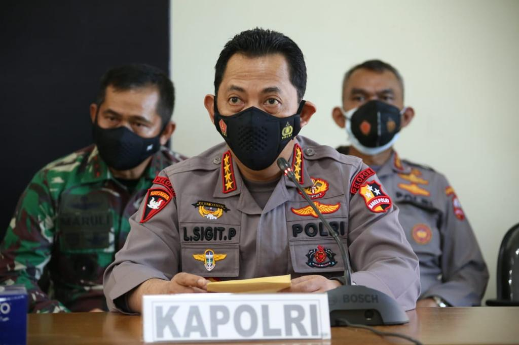 Kerahkan Kekuatan Terbaik, Kapolri Dirikan 2 Posko Evakuasi Crew Dari KRI Nanggala 402