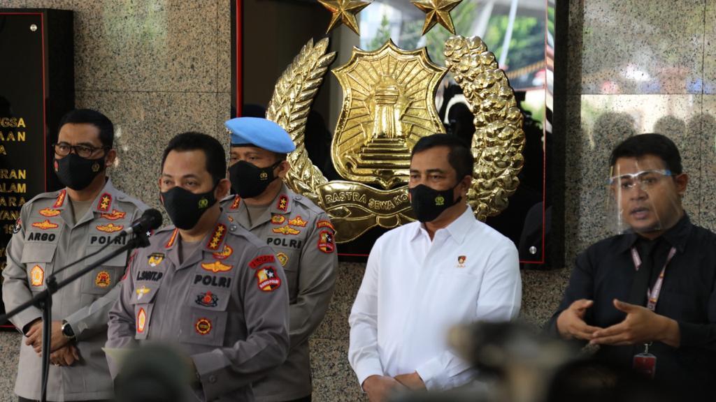 """Kapolri Jendral Pol. Jendral Pol. Listyo Sigit Prabowo """"Negara Tidak Boleh Kalah Dengan KKB Papua"""""""