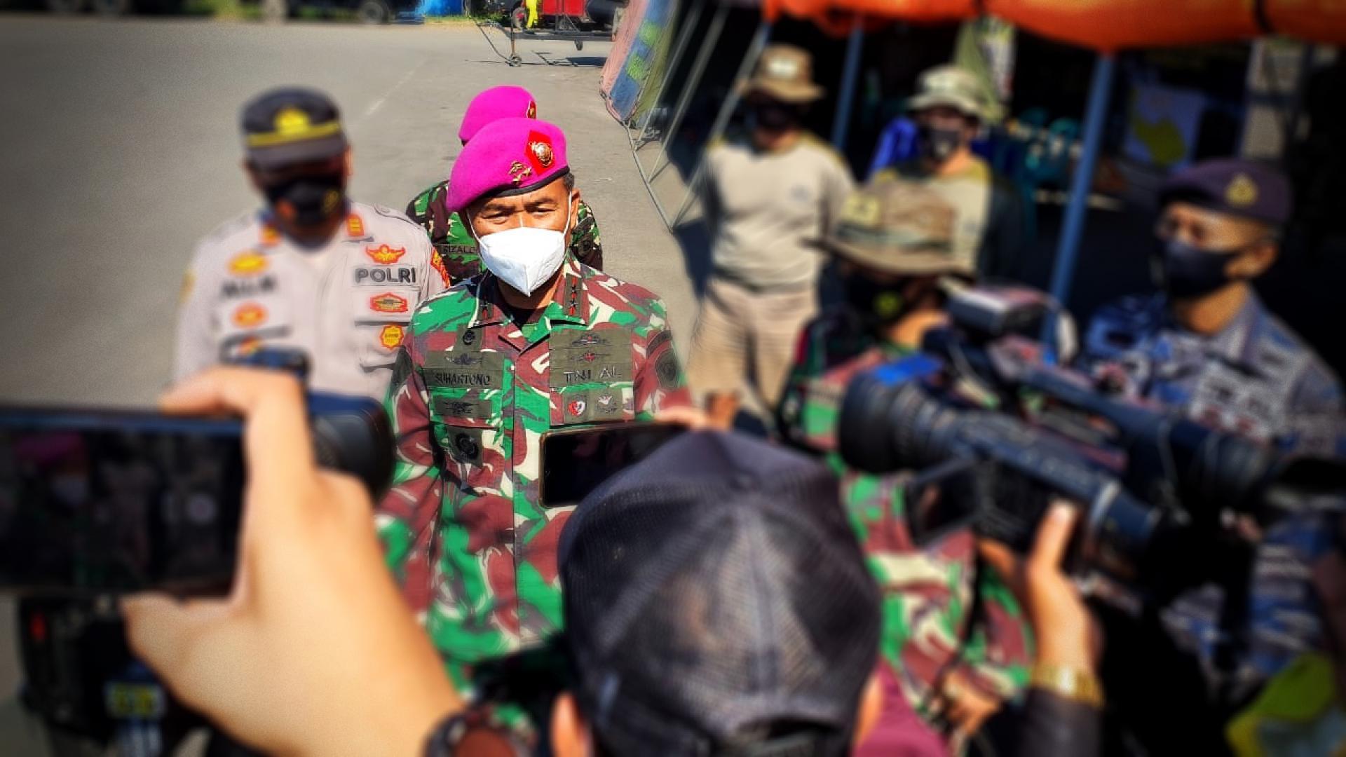 KORPS MARINIR TNI AL SIAPKAN PENYELAM TAIFIB GUNA EVAKUASI CREW KRI NANGGALA 402