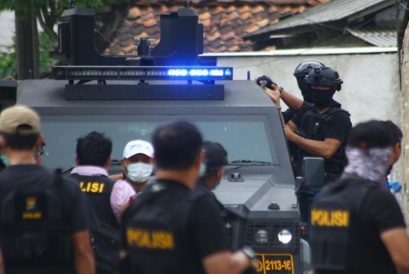 Pasca Serangan Mabes Polri, Densus 88 Tangkap Terduga Teroris di Jawa Tengah