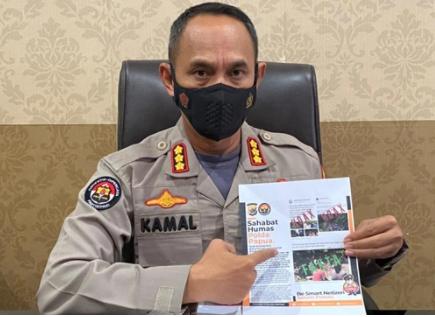 "Polda Papua Pastikan "" Foto Pengungsi Ilaga Puncak di Medsos Adalah Hoaks """