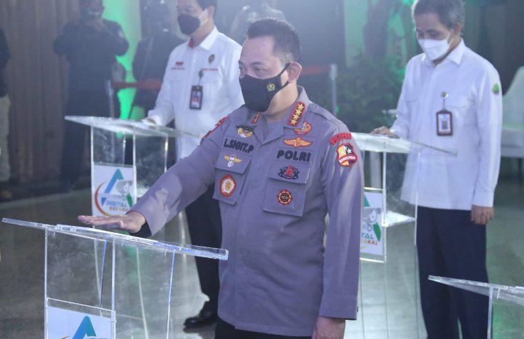 Percepat Penanggulangan Karhutla, Kapolri Jendral Listyo Sigit Prabowo Launching ASAP Digital Nasional