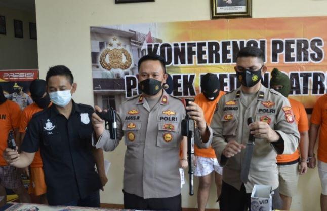 Polisi Bekuk 6 Orang Pengeroyok Sekeluarga di Kota Bekasi, Motifnya Utang Piutang