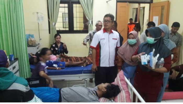 Sebanyak 62 Orang Warga Kampung Sawah Kota Bogor Menderita Keracunan Tutut Alias Keong Sawah