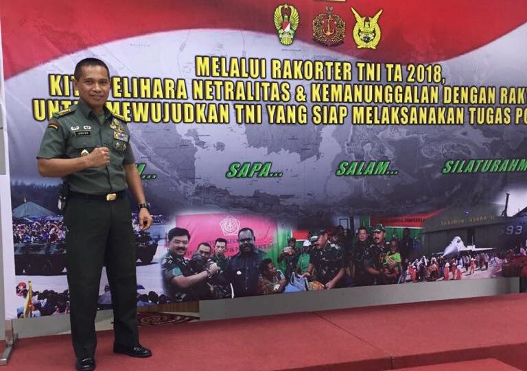 Profil Kolonel Infatri Mochammad Luthfie Beta, S. Sos, Msi.