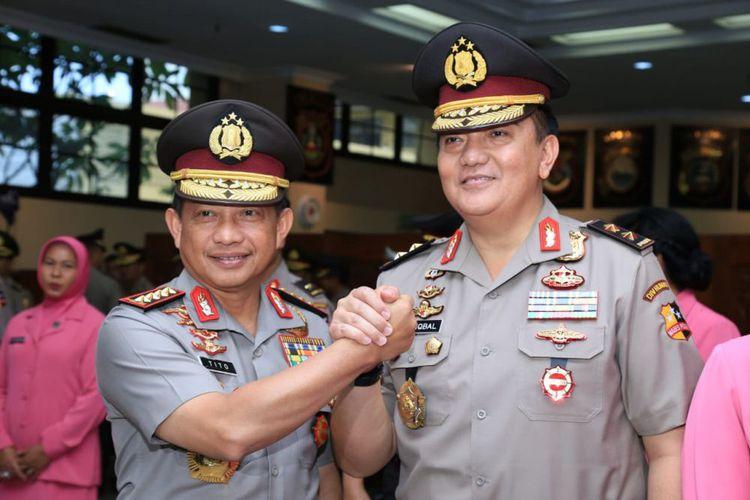 Selain Irjen Pol. Drs. Mohammad Iqbal  Naik Pangkat, Diantara 11 Perwira Tinggi Terdapat Komjen Pol. Drs. H. Setyo Wasisto, SH,