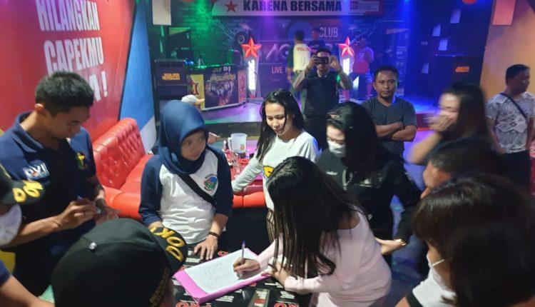 SAMBUT PESTA DEMOKRASI PEMILU 2019, POLDA GORONTALO LAKUKAN RAZIA TEMPAT HIBURAN MALAM