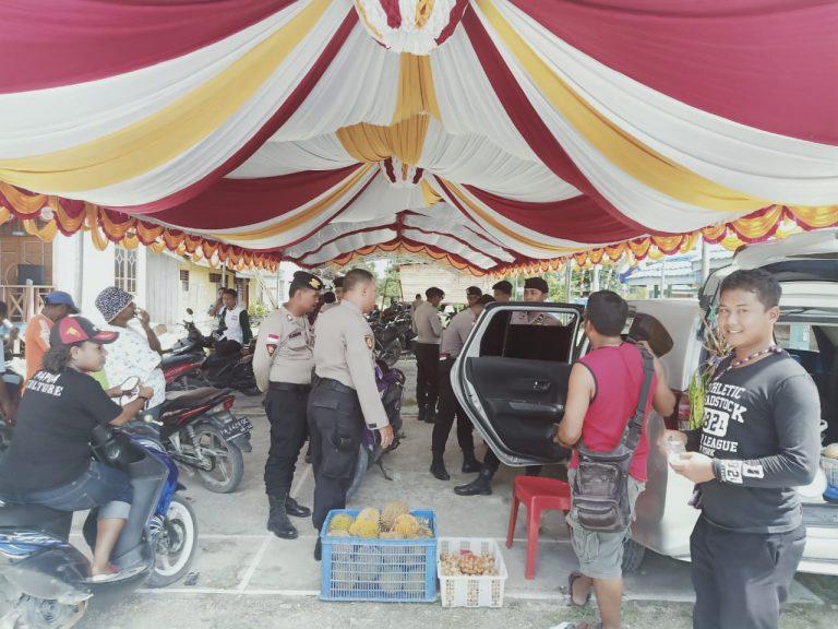 Ciptakan Situasi Yang Aman dan Nyaman di Wilayah Kab. Keerom Satuan Sabhara Polres Keerom Melaksanakan Patroli Dialogis
