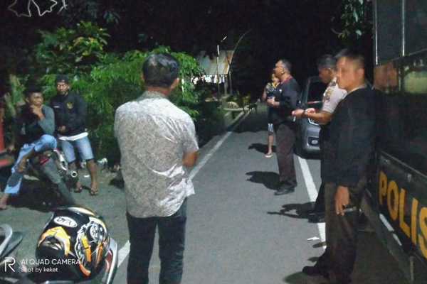 Polsek Matuari Damaikan Perkelahian Dua Kelompok Pemuda Sagerat & Pemuda Watudambo