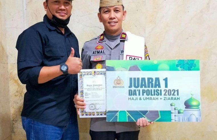 IPTU MUHAMMAD ATMAL DARI POLRES BONE BOLANGO HARUMKAN GORONTALO DALAM AJANG NASIONAL DAI POLISI 2021