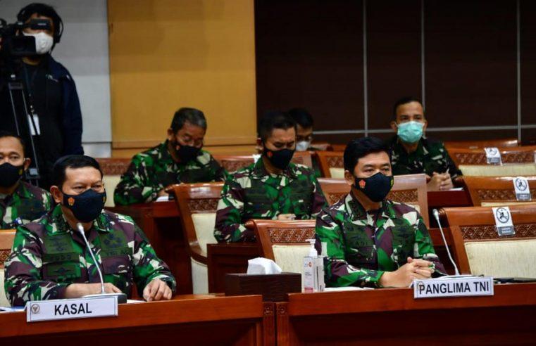 RAPAT DENGAR PENDAPAT PANGLIMA TNI, KASAL DENGAN DPR RI