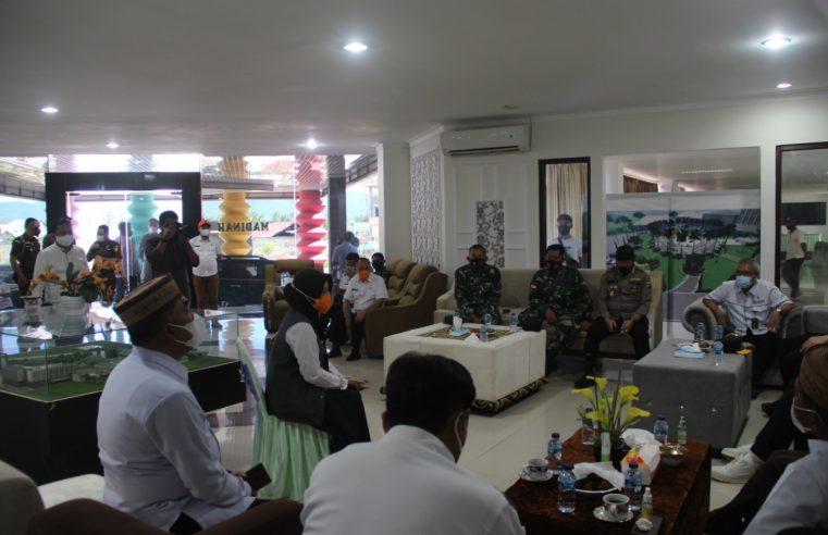 Antisipasi Lonjakan Kasus Covid-19, Gubernur – Kapolda Gorontalo & Forkopimda Cek Lokasi Karantina