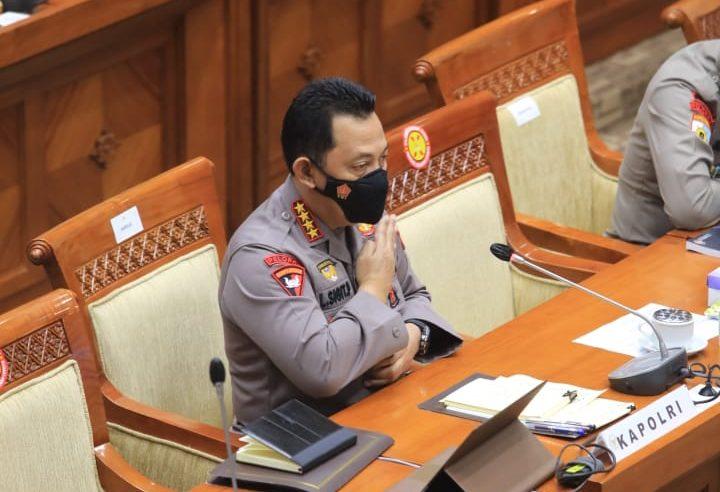 KapolriJenderal Listyo Sigit PrabowoMelakukan Rapat Dengar Pendapat (RDP) dengan Komisi III DPR