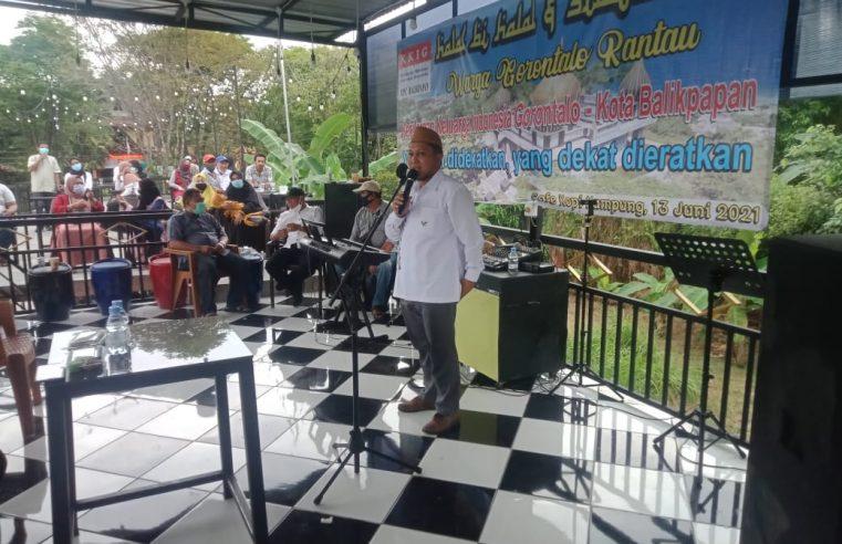 Warga Gorontalo di Balikpapan, Tergabung Dalam Paguyuban KKIG Adakan Halal Bi Halal Standar Protokol Kesehatan