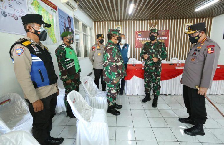 Blusukan Ke Bandung, Kapolri & Panglima Mapping Kebutuhan Masyarakat Dampak PPKM Darurat