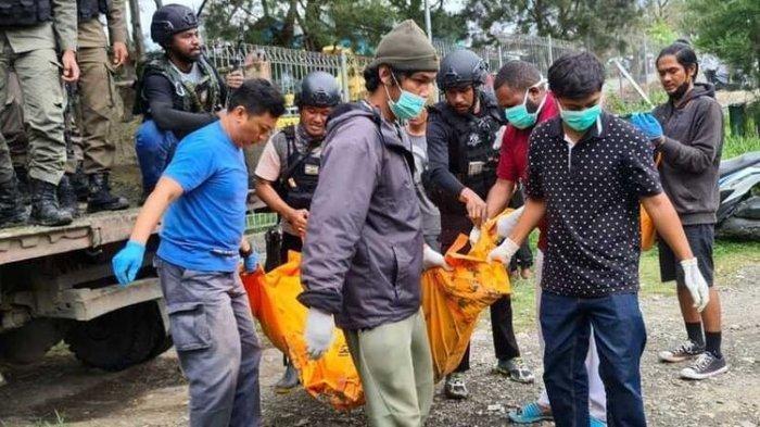 Satgas Nemangkawi Buru Pelaku Pembantaian Dua Orang Karyawan  PT. Indopapua