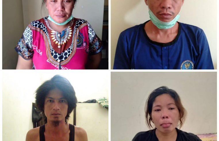 Mertua & Menantu Rela Menjadi Penyeludup Sabu Jaringan Narkoba Lintas Sumatera, BB 1 Kilo 1,5 Gram Senilai Rp 2,3 M