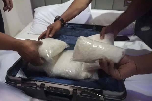 Bahan Baku Narkoba di Perumahan Mewah Yang Jadi Pabrik Sabu Karawaci Tidak Terdeteksi Sinar X-Ray