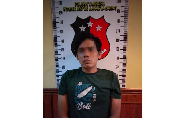 10 Bulan Diburu Polisi, RL alias Kodok (36), Pembobol Rumah Diciduk di Tambora Jakarta Barat