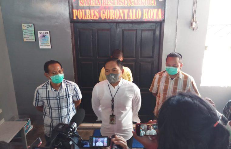 Miliki Sabu 42 Sachet, EK Alias Elfis Diamankan Sat Narkoba Polres Gorontalo Kota