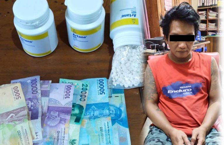 Polsek Kediri Kota Amankan Ribuan Butir Narkoba Pil Dobel L dari Tangan WBA (47)